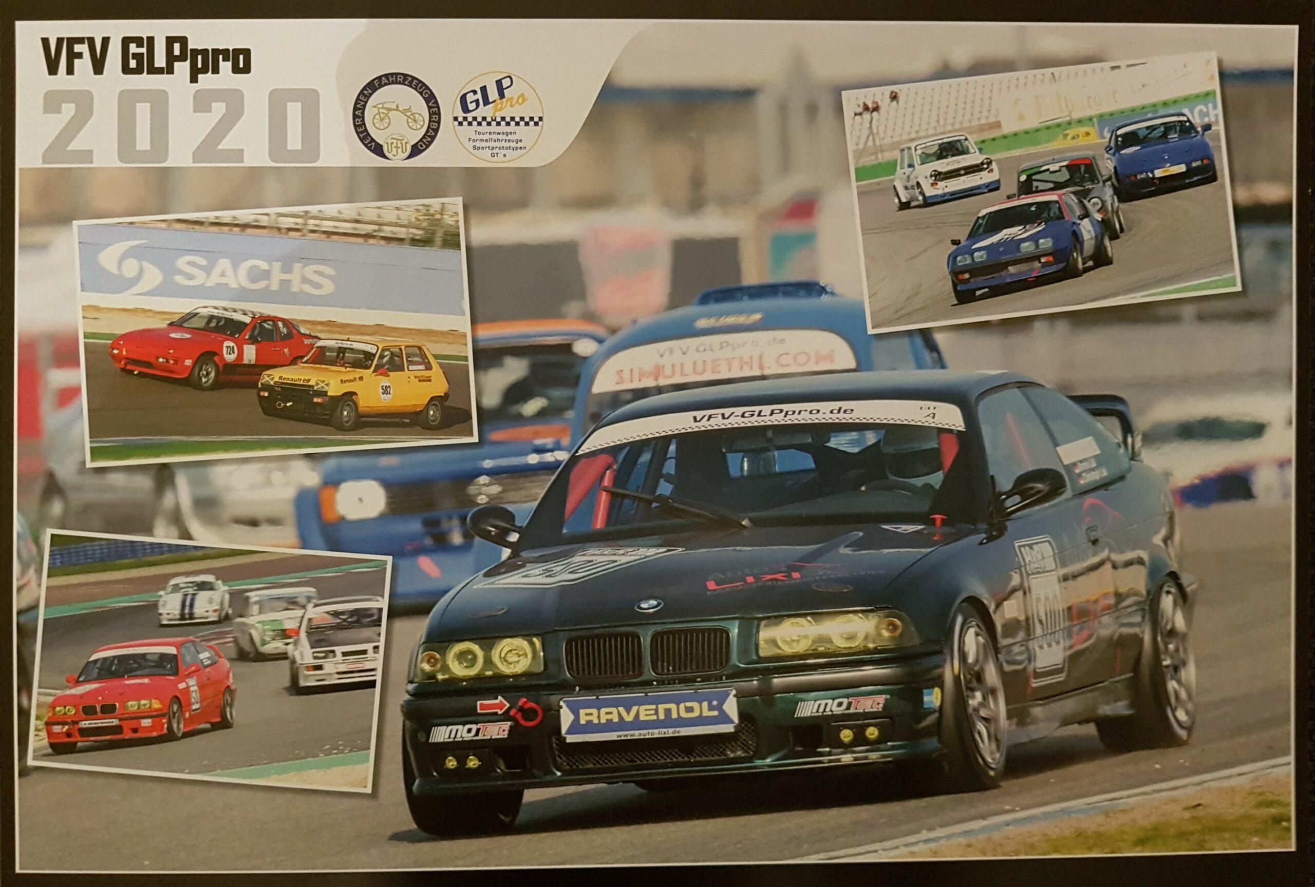 VFV-GLPpro Wandkalender 2021 von auto-rennsport